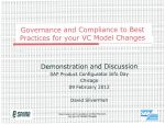 Governance Compliance to Best Practices